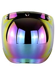 Недорогие -Ретро 3-оснастка солнцезащитный крем солнцезащитный козырек пузыря Mirro для мотоциклетный шлем лицо линзы кадра