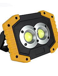 cheap -CL-0044 LED Light Emergency Lights 750-1200 lm LED LED Emitters Automatic Mode with Battery and USB Cable Portable Windproof Durable Camping / Hiking / Caving Fishing White Light Source Color Yellow