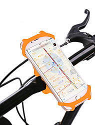 cheap -Bike Phone Mount 360° Rotation for Road Bike Mountain Bike MTB Folding Bike Silicone iPhone X iPhone XS iPhone XR Cycling Bicycle Black Orange Green