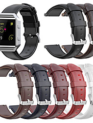 cheap -For Fitbit Blaze Replacement Band Genuine Leather Strap Classic Adjustable