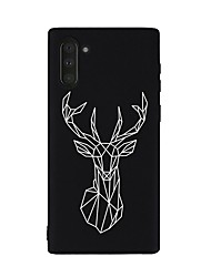 cheap -Case For Samsung Galaxy Galaxy Note 10 / Galaxy Note 10 Plus Shockproof Back Cover Animal TPU