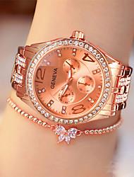cheap -Women's Quartz Watches Fashion Silver Gold Rose Gold Alloy Quartz Rose Gold Gold Silver Casual Watch Analog