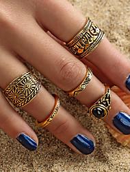 cheap -Ring Set Gold Alloy 5pcs / Women's