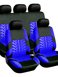 cheap -9PCS/Set Universal Breathable Tire Track Style Car Seat Cover Seat Protector Case Cushion Pad Car Styling Car Seat Protector Four Seasons Car Accessories