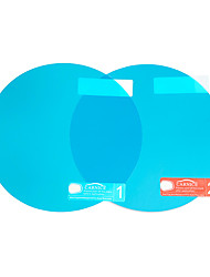 cheap -2Pcs Car Waterproof PET Anti-fog Rearview Mirror Side Window Soft Protective Film Transparent