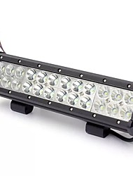 cheap -1pcs 72W 5760LM LED Work Light Bar Spot Flood Beam Lamp For Jeep Off Road SUV Truck Boat