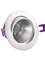 cheap -New Die-cast LED Spotlight COB 12w Embedded Ceiling Spotlight Downlight Clothing Store And Hotel Lighting