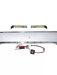 cheap -1pcs 88 LED Strobe Light Bar Emergency Beacon Warning Signal Light Tow Truck Response Red White 47''