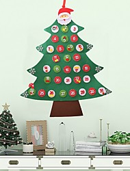 cheap -Christmas Ornaments Holiday Cloth Christmas tree Novelty Christmas Decoration