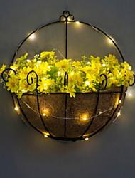 Недорогие -Искусственные Цветы 1 Филиал С креплением на стену Modern Вечные цветы Ваза Цветы на стену