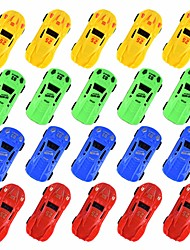 cheap -1:18 Toy Car Vehicle Playset Landscape Climbing Car Focus Toy Plastic PP+ABS Mini Car Vehicles Toys for Party Favor or Kids Birthday Gift 20 pcs