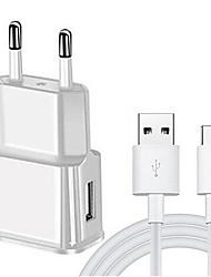 Недорогие -usb быстрое зарядное устройство адаптер зарядный кабель типа C для Samsung Galaxy A3 / A5 / A7 2017 A8 2018 J3 J5 J7 2016 A40 A50 A70 Umidigi A5 Pro
