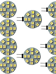 cheap -10pcs 2.5 W LED Bi-pin Lights 240 lm G4 G5 12 LED Beads SMD 5050 9-30 V