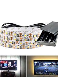 cheap -5m LED Light Strips Flexible Tiktok Lights 300 LEDs SMD3528 5mm Warm White White Red Creative Party Decorative Batteries Powered 1 set