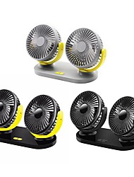 cheap -12V/24V USB Car Cooling Fan Low Noise Summer Air Conditioning 360 Degrees Rotation Adjustable Car Fan