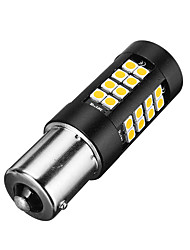 cheap -1pcs 1156 BAU15S LED Brake Reverse Lights Turn signal Blub DC12V 5W Error Free No Flashing