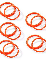 cheap -YUHETEC Silicone Sealing Ring Accessories Bag for TFV8 big baby Atomizer 5PCS