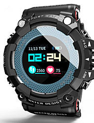 cheap -Men's Smartwatch Digital Sporty Stylish Black 50 m Water Resistant / Waterproof Heart Rate Monitor Bluetooth Digital Fashion - Purple Blue One Year Battery Life