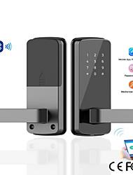 cheap -Factory OEM 004 Zinc Alloy lock / Intelligent Lock / Password lock Smart Home Security iOS / Android System Password unlocking / Mechanical key unlocking / APP unlocking Home / Office / Hotel Wooden