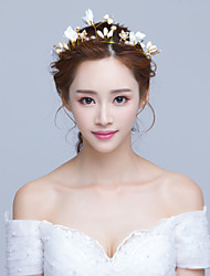 cheap -Rhinestone / Alloy Flowers / Headdress / Headpiece with Beading / Petal / Flower 1 Piece Party / Evening Headpiece