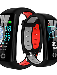 cheap -Men's Smartwatch Digital Stylish Silicone Red / Grey / Yellow 30 m Heart Rate Monitor Smart Sleep Mode Digital Fashion - Yellow Red Gray One Year Battery Life