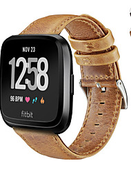 Недорогие -кожаный ремешок для часов ремешок для браслета fitbit наоборот облегченный / наоборот браслет