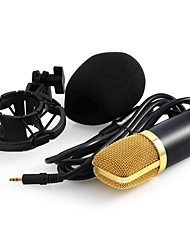 cheap -Condenser Microphone For Pc Professional 3.5mm Wired Recording Studio Mic For Computer Karaoke Phantom Power