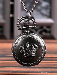 Недорогие -Муж. Карманные часы Кварцевый Старинный Черный Творчество Новый дизайн Повседневные часы Аналого-цифровые Винтаж - Черный