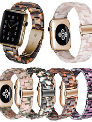 cheap -Resin Strap For Apple Watch Series 6 SE 5 4 3 2 1  Iwatch Band 42mm/38mm/44mm/40mm Accessories Bracelet Belt