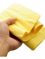 cheap -Multi-purpose deerskin towel car wash cleaning towel wash cotton PVA synthetic suede towel absorbent dry hair towel