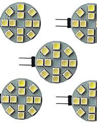 cheap -1pc 2.5 W LED Bi-pin Lights 340 lm G4 12 LED Beads SMD 5730 9-30 V