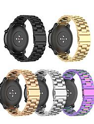 Недорогие -ремешок для часов для амазфит гтп 42мм / амазфит гтп 47мм амазфит ювелирный дизайн браслет из нержавеющей стали