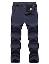 cheap -Women's Hiking Pants Softshell Pants Winter Outdoor Waterproof Windproof Fleece Lining Warm Softshell Pants / Trousers Bottoms Camping / Hiking Hunting Ski / Snowboard Black Army Green Dark Blue L XL