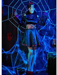 cheap -Ghost Halloween Props Adults' Women's Halloween Halloween Festival / Holiday Knitting Black Women's Carnival Costumes / Dress / Belt / Hat
