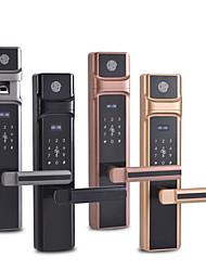 cheap -Factory OEM MN-302 Zinc Alloy lock / Fingerprint Lock / Intelligent Lock Smart Home Security Android System RFID / Fingerprint unlocking / Password unlocking Home / Office / Hotel Wooden Door
