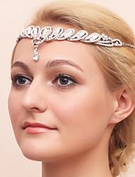 cheap -Rhinestone / Alloy Tiaras / Headpiece with Rhinestone 1 Piece Wedding Headpiece
