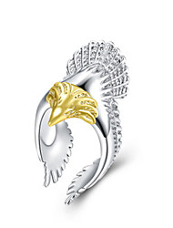 cheap -Women's Ring 1pc Gold Silver Silver-Plated Alloy Daily Jewelry Owl