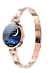 cheap -AK15 Unisex Smartwatch Fitness Running Watch Smart Wristbands Fitness Band Bluetooth Waterproof Heart Rate Monitor Blood Pressure Measurement Sports Blood Oxygen Monitor Pedometer Call Reminder