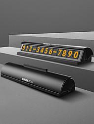 abordables -style de plaque de tiroir autocollant de voiture caché facile carte de numéro de téléphone mobile avec interrupteur à bascule