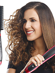 cheap -Quick Hair Straightener Comb Durable Electric Straight Hair Comb Temperature Adjustable Brush Styler
