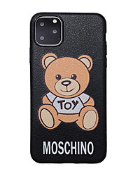 cheap -Case For Apple iPhone 11 / iPhone 11 Pro / iPhone 11 Pro Max Ultra-thin / Pattern Back Cover Animal / Cartoon TPU