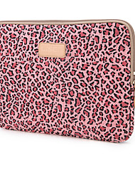 cheap -10 Inch Laptop / 12 Inch Laptop / 13.3 Inch Laptop Sleeve Polyester / Cotton Blend / Canvas Leopard Print Unisex Water Proof Shock Proof