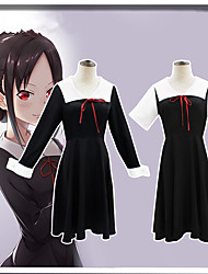 cheap -Inspired by Kaguya-sama: Love is War Cosplay Anime Cosplay Costumes Japanese Dresses Top Skirt Bow Tie For Women's
