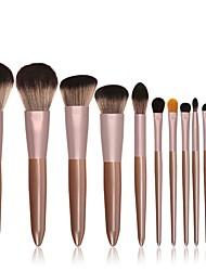 cheap -Professional Makeup Brushes 12pcs New Design Sexy Lady Wooden / Bamboo for Makeup Brush