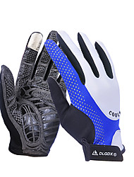 cheap -WEST BIKING® Winter Bike Gloves / Cycling Gloves Mountain Bike MTB Breathable Anti-Slip Sweat-wicking Protective Full Finger Gloves Sports Gloves Red Blue for Adults' Outdoor