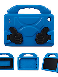 cheap -Case For Amazon Amazon Fire7(2017) Shockproof / with Stand Back Cover Solid Colored EVA