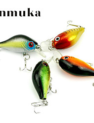 cheap -1 pcs Fishing Lures Frog Sinking Bass Trout Pike Bait Casting Hard Plastic
