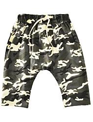 cheap -Kids Toddler Boys' Active Basic Print Print Shorts Army Green