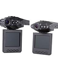 Недорогие -720p автомобильный видеорегистратор 120 градусов широкоугольный 3,0 мега-смос 2,4-дюймовый видеорегистратор с детектором движения 6 инфракрасных светодиодов автомобильный рекордер