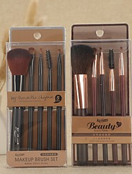 cheap -Professional Makeup Brushes 5PCS Full Coverage Plastic for Makeup Brush